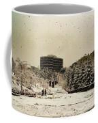 White Seattle Coffee Mug