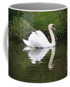 White Swan In Belgium Park Coffee Mug
