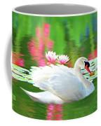White Swan Coffee Mug