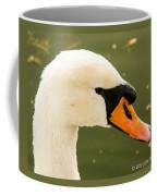White Swan Profile Coffee Mug