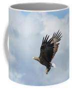 White-tailed Eagle With Fish Coffee Mug