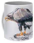 White Tailed Sea Eagle Coffee Mug