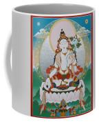 White Tara Chintamani Sita Tara Coffee Mug