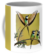 White Throated Bee Eater Pf Coffee Mug