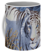 White Tiger - Crystal Eyes Coffee Mug
