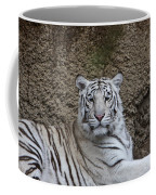 White Tiger Resting Coffee Mug