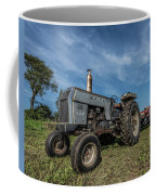 White Tractor Coffee Mug