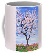 White Tree, Painting Coffee Mug