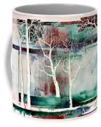 White Trees Coffee Mug