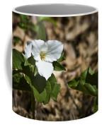 White Trillium Coffee Mug