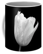 White Tulip Open Coffee Mug