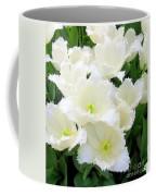 White Tulips Coffee Mug