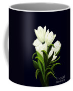 White Tulips Coffee Mug