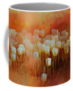 White Tulips Coffee Mug by Richard Ricci
