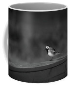 White Wagtail 1 In Bw Coffee Mug