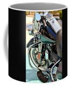 White Wall Hog Coffee Mug