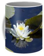 White Waterlily Coffee Mug
