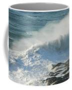White Wave Sprays Coffee Mug