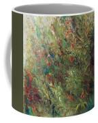 White Wildflowers-2 Coffee Mug