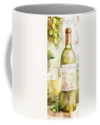 White Wine Watercolor Coffee Mug