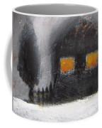 White Winter Night Coffee Mug