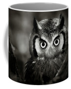 Whitefaced Owl Coffee Mug by Johan Swanepoel