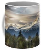 Whitehorse Sunrise, Flowing Clouds Coffee Mug