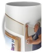 Whitewasher Plastering Wall Coffee Mug