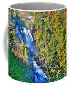 Whitewater Falls North Carolina Coffee Mug