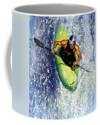 Whitewater Kayaker Coffee Mug