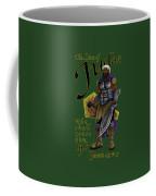 Who Shall Rouse Judah-yellow Trim Coffee Mug