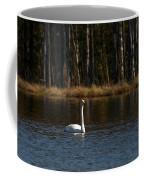 Whooper Swan Of Liesilampi 3 Coffee Mug