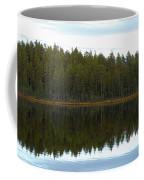 Whooper Swans Panorama  Coffee Mug