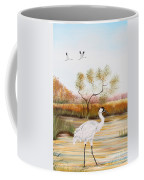 Whooping Cranes-jp3152 Coffee Mug
