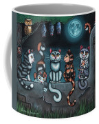 Whos Your Daddy Cat Painting Coffee Mug