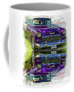 Wicked 1955 Chevy - Reflection Coffee Mug