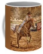 Wickenburg Senior Pro Rodeo Barrel Racing Coffee Mug