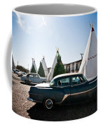 Wigwam Motel Classic Car #5 Coffee Mug