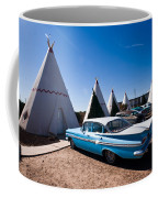 Wigwam Motel Classic Car #6 Coffee Mug