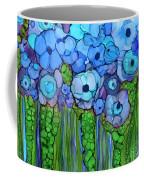 Wild Blue Poppies Coffee Mug