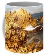 Wild California Coast - Modern Art Coffee Mug