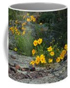 Wild Coreopsis On Hughes Mountain 1 Coffee Mug