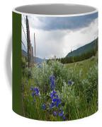 Wild Delphinium Coffee Mug