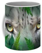 Wild Eyes - Snow Leopard Coffee Mug