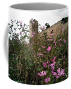 Wild Flowers At The Old Fortress Coffee Mug