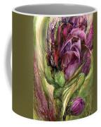 Wild Garden Tulips Coffee Mug