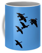 Wild Geese In The West Coffee Mug