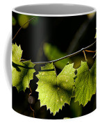 Wild Grape Leaves Coffee Mug