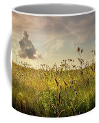Wild Grass And A Lonely Cloud Coffee Mug