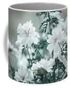 Wild Hollyhock. Nature In Alien Skin Coffee Mug